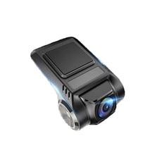 ADAS Мини Автомобильный видеорегистратор камера Full HD Автомобильный цифровой видеорегистратор Dash Cam для Android APP