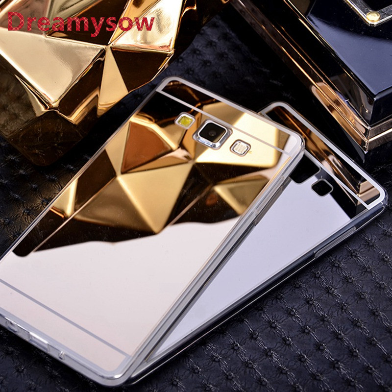 Mirror Plating Soft TPU Case Rubber Back Cover For Samsung Galaxy J1 J120 ACE J3 J320 J5 J7 J510 A3 A5 A7 2015 2016 2017 S8 C7