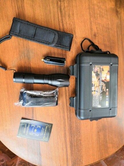 Светодиодный фонарик тактический фонарь 8000 Люмен CREE XM-T6/L2 масштабируемой 5 режимов алюминиевый Lanterna светодиодный фонарик фонари для кемпинга