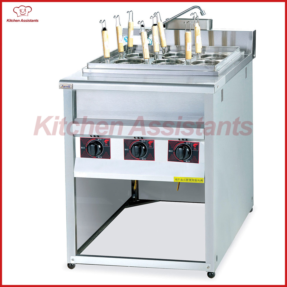 GH779Z gas commercial convection pasta cooker machine pkjg gh776 gas convection pasta cooker 6 pan for commercial kitchen