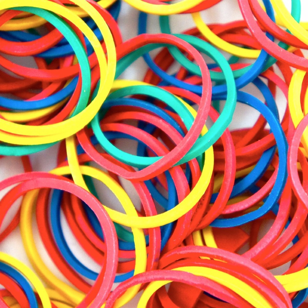100pcs #12 Colorful Tattoo Rubber Bands For Tattoo Machine Tubes Needle Tip Supplies Tattoo Accessories