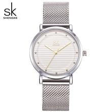 Luxury Women Watches Ultrathin Stainless Steel Mesh Band Watches Relogio Feminino Clock Ladies Fashion Watch Quartz Wristwatch
