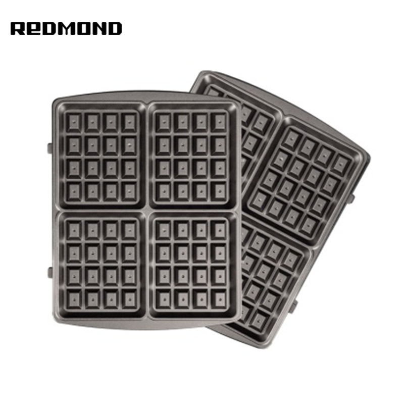 Panel for multibaker Redmond RAMB-102 (Viennese waffles black) multi baker panel for multibaker redmond ramb 23 semicircle multi baker