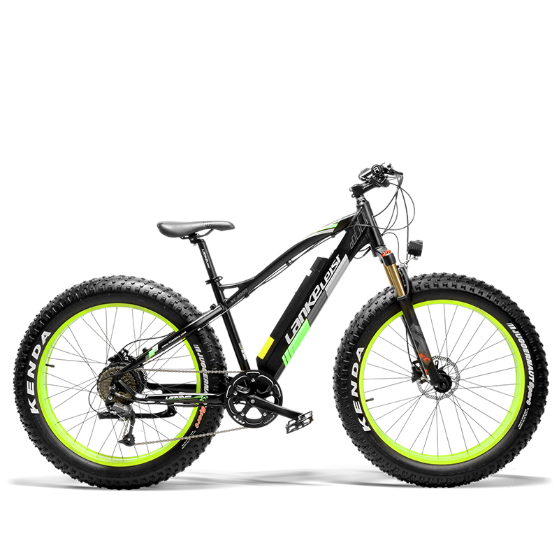 XC4000 500W 36V 16AH 9 Speed Fat Electric Bike Aluminum alloy frame Strong stability Strong power and long cycle time