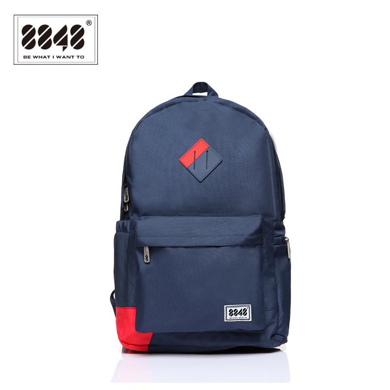 Image 2 - 8848 Brand Backpack Men Backpack Travel Resistant Oxford Waterproof Material Backpacking Trendy Shoe Pocket Knapsack D020 3-in Backpacks from Luggage & Bags
