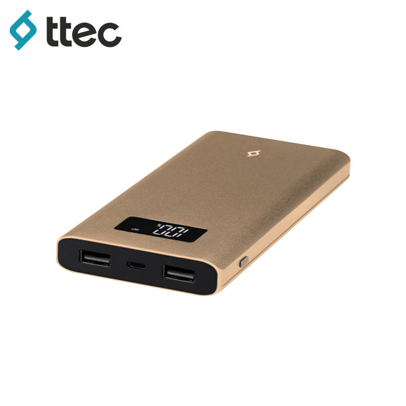 External Battery Pack ttec AlumiSlim 10.000 LCD bt 50q external battery for topcon surveying instruments