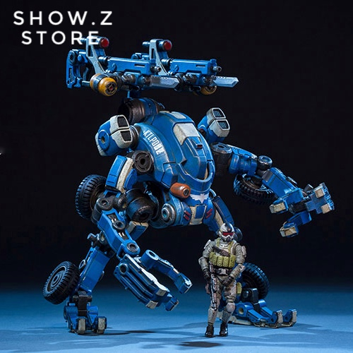 все цены на [Show.Z Store] JoyToy Source Acid Rain Mecha TK02 Tiehai All-Terrain Transformable Mech Version Action Figure онлайн