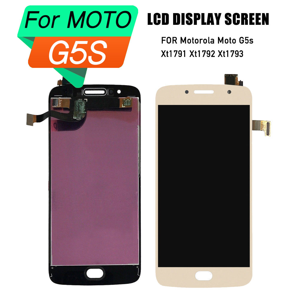 lcd display screen for Motorola moto G5S display touch screen digitizer assembly frame for Moto G5s lcd Xt1791 Xt1792 Xt1793lcd display screen for Motorola moto G5S display touch screen digitizer assembly frame for Moto G5s lcd Xt1791 Xt1792 Xt1793
