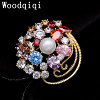 Woodqiqi Antique Style Metal Knit Sweater Wool Yarn Brooches Pin Up Pins And Brooches Hijab Pins