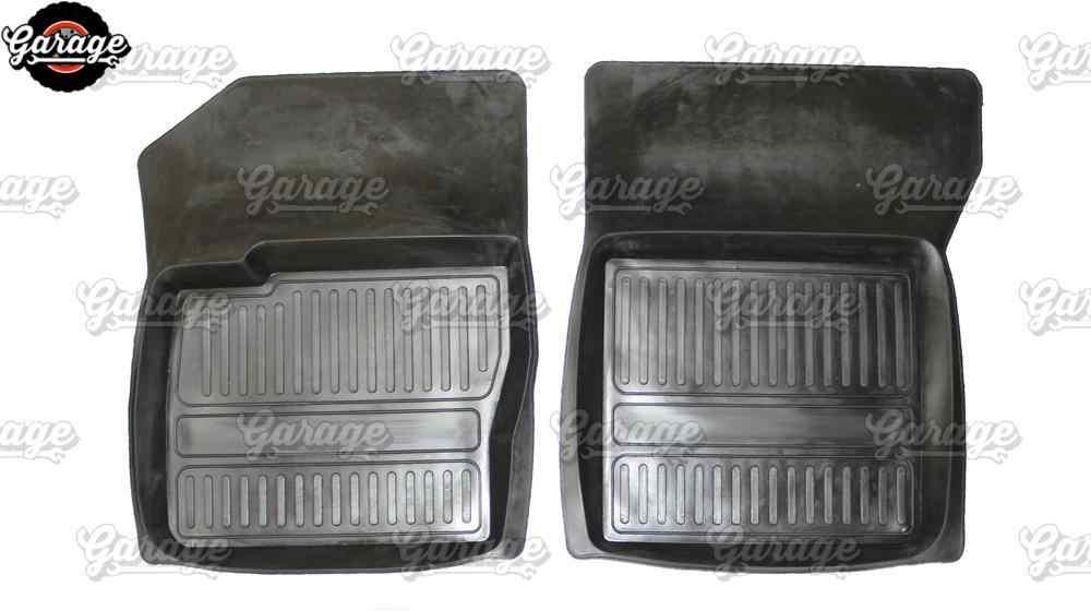 車のフロアマットケースのためのフォードフォーカス 2 2004-2010 ゴム 1 セット/4 ピースまたは 2 ピースアクセサリーの保護カーペット装飾