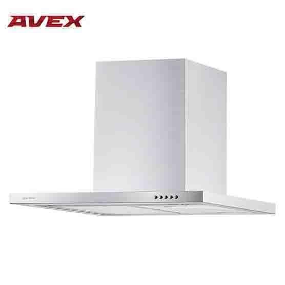 Кухонная вытяжка (воздухоочиститель) AVEX TS 6062 X, нержавеющая сталь, мощность 160 Вт, LED  2х1,5 Вт