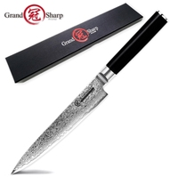 Damascus Kitchen Knife 5.9 Inch Utility Knife 67 Layers vg10 Japanese Damascus Steel Kitchen Knives Chef Knife Cooking Tools NEW