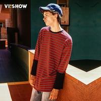 VIISHOW 2017 New Arrival Hoodies Men Brand Clothing Fashion Striped Sweatshirts Male Top Quality 100 Cotton