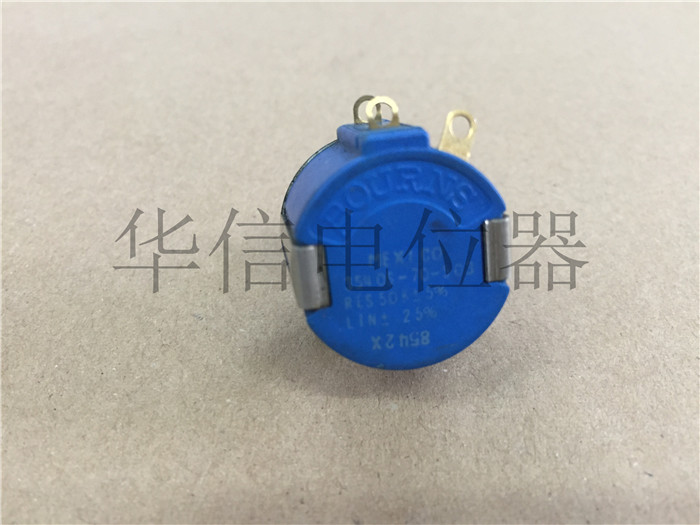 Original new 100% 3540S-70-503 50K multi turn wirewound potentiometer shaft diameter 3MM (SWITCH) hellpot 7246 41 0 biaxial multi turn wirewound potentiometers 1k