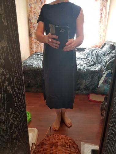 Summer Dress For Women Sexy Slash Neck Big Pocket Waist Lace Up Hem Split Slim Dresses Female Korean Fashion Tide photo review