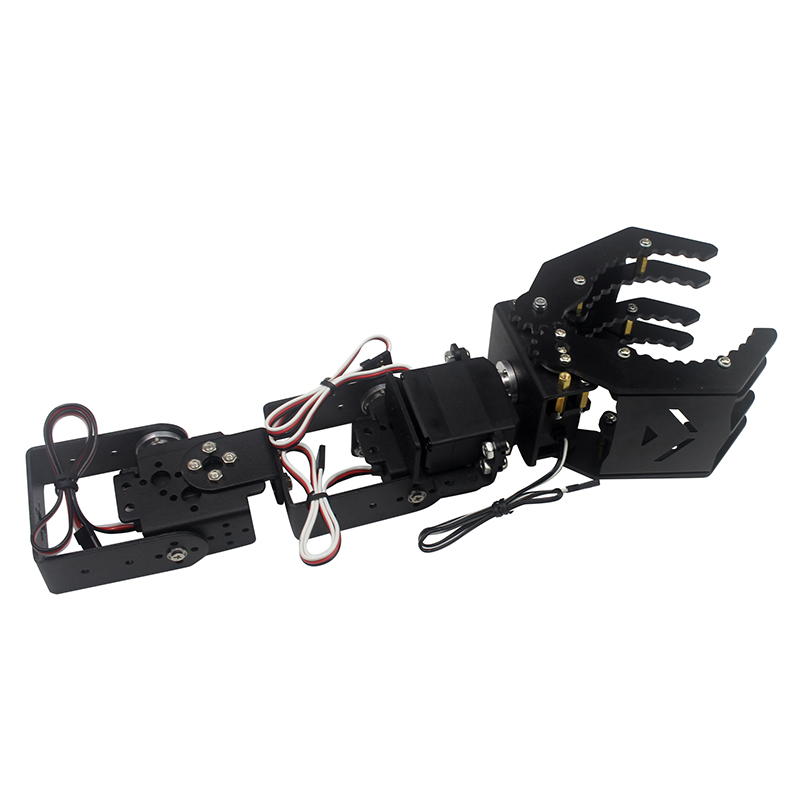 DIY 4DOF Robot Arm Claw Holder With / Without 4pcs Digital Servo LD-1501MG LDX-335 For RC Toy Models Parts Accessories