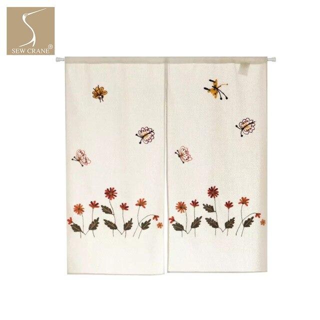 SewCrane pequeña abeja flor Honeycomb cortina diseño de bordado ...
