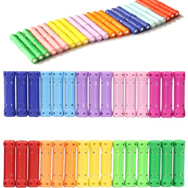 50/100/200pcs Magnet Sticks Magnetic Building Blocks Bars Toys For Children DIY Designer Educational Toys For Kids