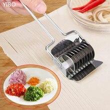 Домашний нож из нержавеющей стали для ручной резки, многофункциональный нож для резки лапши, Креативные кухонные инструменты для резки чеснока