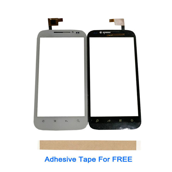 4.5 Inch For <font><b>DNS</b></font> <font><b>S4501</b></font> S4501M Touch Glass Touch Screen Sensor Panel Digitizer White Black Color With Tape 1PC/Lot image