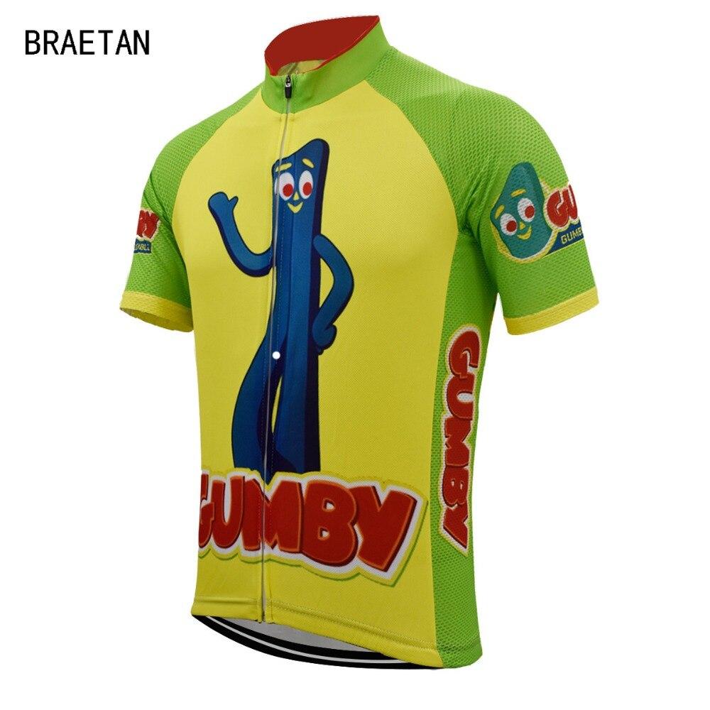 2018 Cycling jersey funny men short sleeve summer bicycle clothing road bike  wear maillot uniform cycling top braetan eda18180f