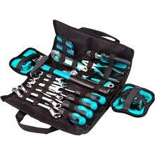 Набор ручного инструмента Bort BTK-45 ( 45 предметов, в удобной сумке. Ключи гаечные, отвертки, молоток, плоскогубцы)