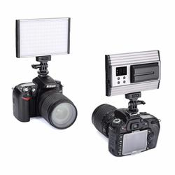 Air Ultra Thin Dimmable 144 LED Camera Video Light 3200K-5500K for Canon Nikon Pentax Olympas Samsung DSLR Camera Camcorder
