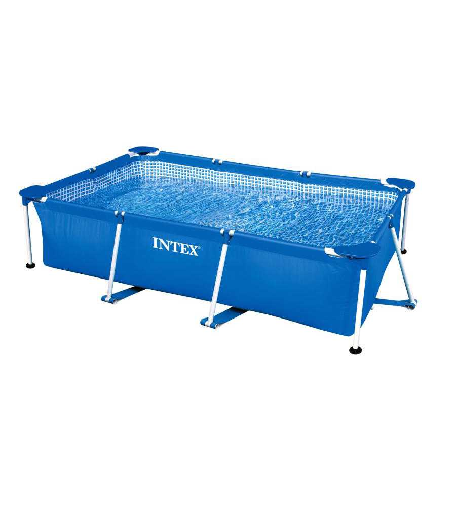 Scaffold Rectangular Pool For Garden Leisure Summer For Summer 300x200x75 Cm, 3834 L, Intex, From 6 Years, Item No. 28272