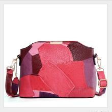 И Южной Кореи Модные дизайнерские женские тонкие сумка высокого качества из натуральной кожи мешок отдыха женская slant Креста- сумка 087