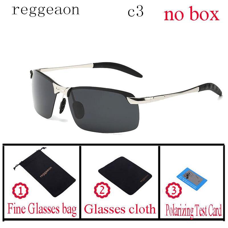 reggaeon rayeds Brand Designer Polarized Men Sunglasses Male Driving Rimless Sun Glases For Women Uv400 Eyewear oculos de sol