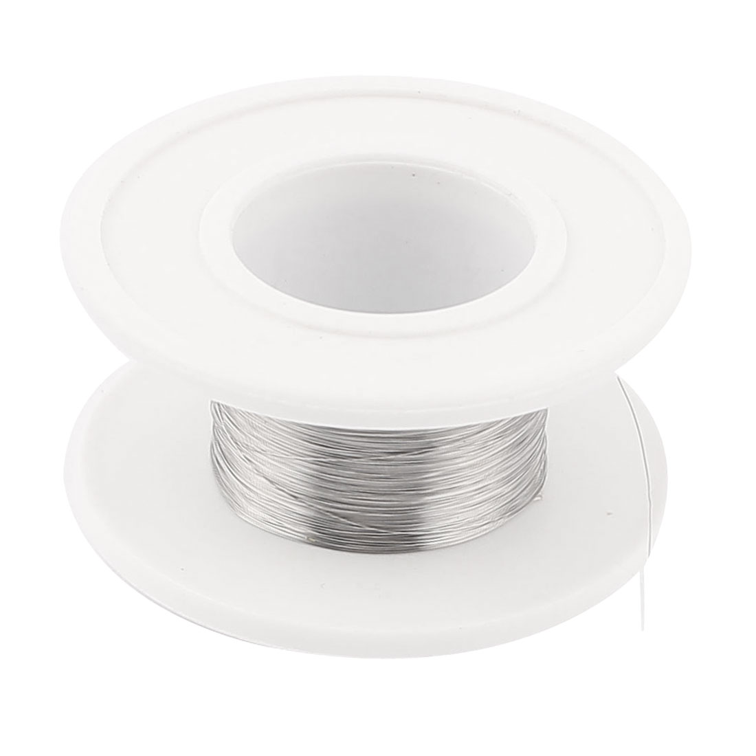 Uxcell Nichrome 80 0.1Mm 38 Gauge Awg 25M Roll 143.9 Ohms/M Heater Wire Length .   25m  цена и фото