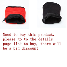 1PC Wrist Wallet Pouch Fleece Zipper Travel Gym Cycling Sport Hiking Accessiories High Quality