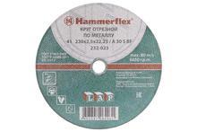 230 x 2.5 x 22,23 A 30 S BF Круг отрезной Hammer Flex 232-023  по металлу цена за 1 шт