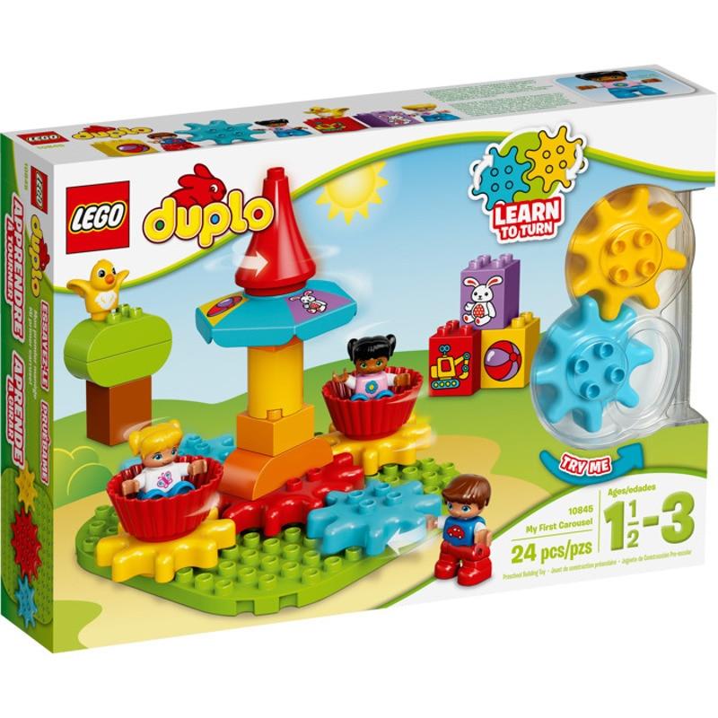 Купить со скидкой Конструктор LEGO DUPLO Моя первая карусель 10845-L