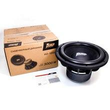 AMP H2-12D2 Универсальный 12-дюймовый автомобильный сабвуфер Max 1500 Вт HIFI сильный бас Авто Аудио Звук Домашнего НЧ-динамик Динамик