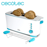 Toaster long slot with capacity for Four toasted Toast & Taste 2L.