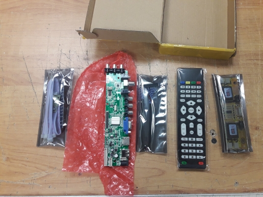 D3663LUA digital TV board DVB-T2/T/C Universal LCD LED TV Controller Driver Board with cable inverter
