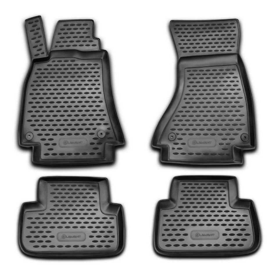 Floor mats for Audi A4 B8 2007-2014 with automatic transmission 4 pcs/set Element NLC0409210
