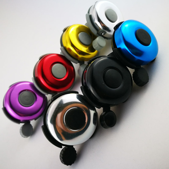 New Bicycle Bells Mountain Bike Bell Handlebar Alarm Horn Ring Metal  Bicycle Horn Cycling Accessories