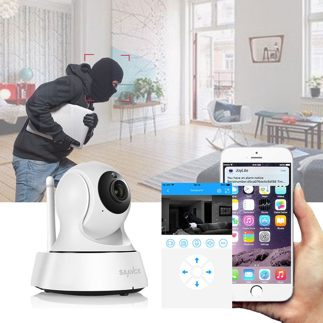 SANNCE Home Security IP Camera Wi-Fi Wireless Mini Network Camera Surveillance Wifi 720P Night Vision CCTV Camera Baby Monitor 3