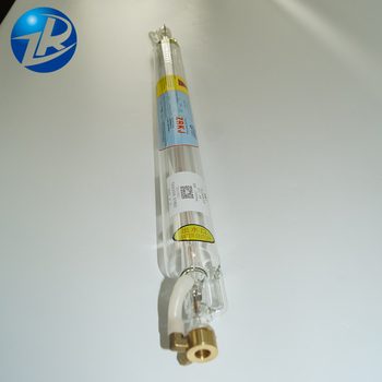 co2 laser cutting machine parts co2 laser tube 50w 1000mm length for co2 laser carving machine  ZuRong