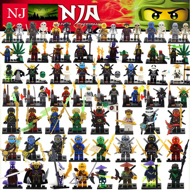 Hot Ninja Motorcycle Building Blocks Bricks toys Compatible legoINGly Ninjagoed Ninja for kids gifts zk15