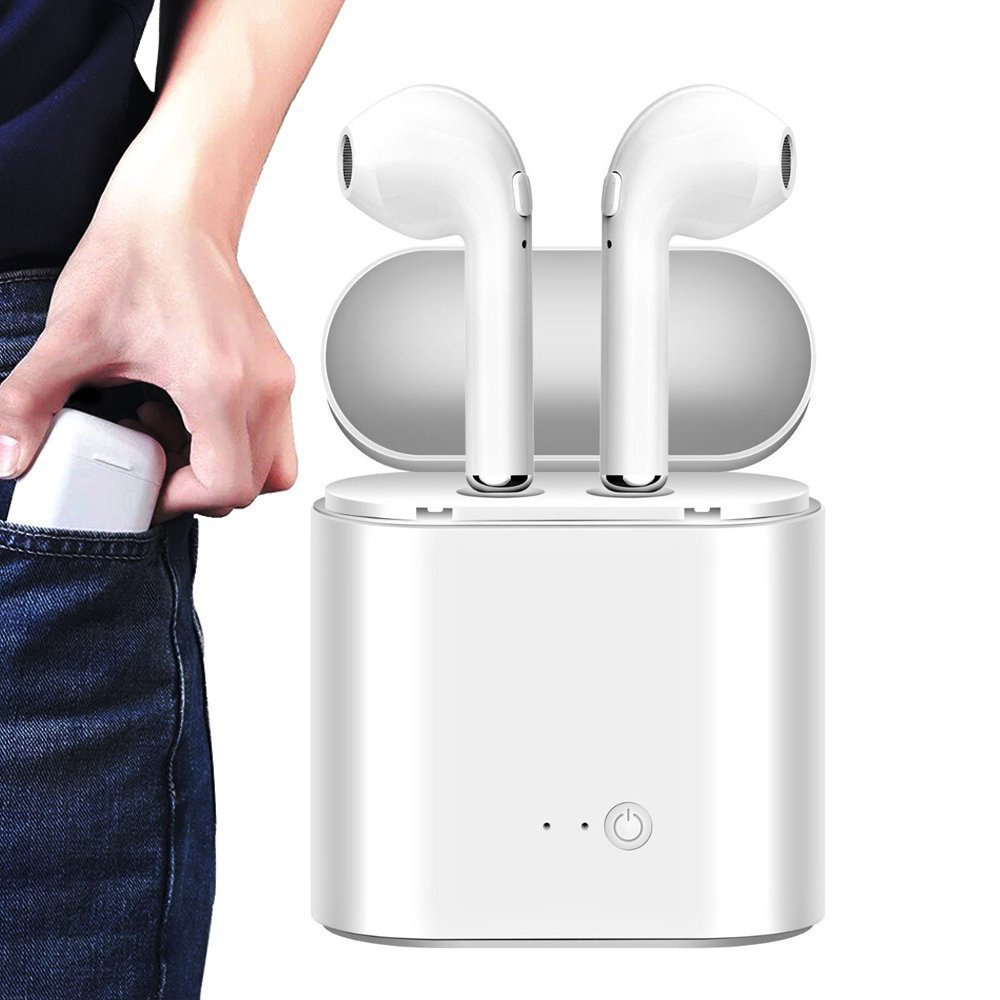 i7S TWS Wireless Headphones in ear Bluetooth Earphone Stereo Headset Kulaklik for iPhone 6 7 8 Plus X Samsung S9 Xiaomi Find X original s9 sport wireless bluetooth 4 0 handfree earphone headset headphones support tf card for iphone 6 6s samsung all phones