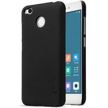 NILLKIN для xiomi Redmi 4X принципиально Капа Coque Super Frosted Shield ПК Жесткий Чехол для Xiaomi Redmi 4X-черный