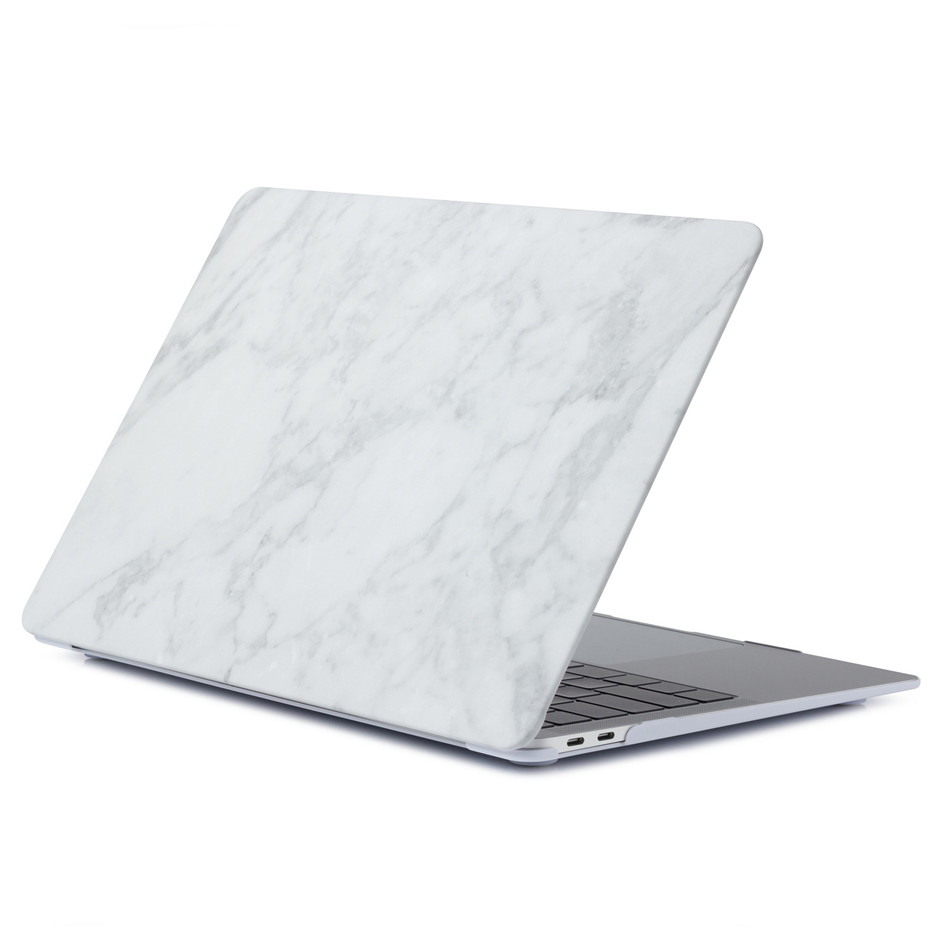 Marble Laptop Case For MacBook Air 13 Mac Book Pro Retina 11 12 13 15 15.4 13.3 Inch Touch Bar Shell  Sleeve+ Laptop Dust Plug (1)
