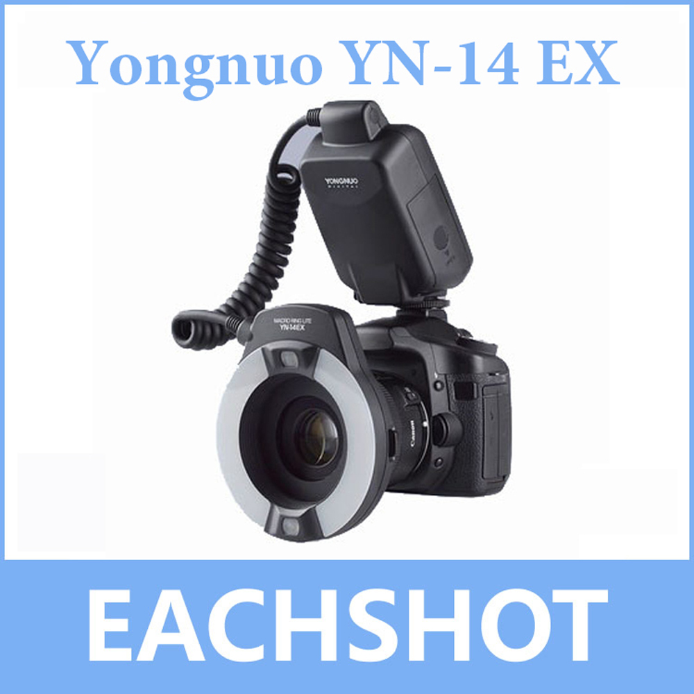 Yongnuo YN-14EX, Yongnuo YN-14EX TTL LED Macro Ring Flash Light for Canon 5D Mark II 5D Mark III 6D 7D 60D 70D 700D 650D 600D купить в Москве 2019