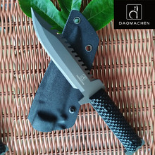 DAOMACHEN Camping survival Knife  Hunting Knife Full Tang  G10 Handle Fix blade knife Super sharp With Imported K Sheath jianwu japan stationery ohto pen type ceramic knife creative artist knife imported kyocera blade