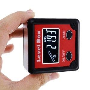 Image 4 - Digital Level Angle Finder Bevel Box Magnetic Base 360deg (4 x 90deg) Inclinometer Protractor Gauge Tilt Direction Indicator
