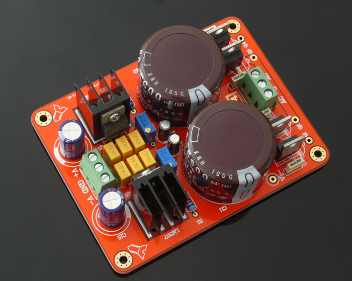 Power Supply Using Lm 317 Lm337 Electronic Circuits And Diagram