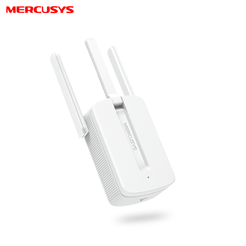 Wi-Fi signal booster Mercusys MW300RE lcd display high gain gsm 980mhz signal booster amplifier with cable yagi antenna